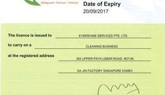 Cleaning Business Licence Renewal