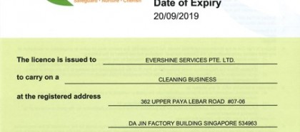 Cleaning Business Licence