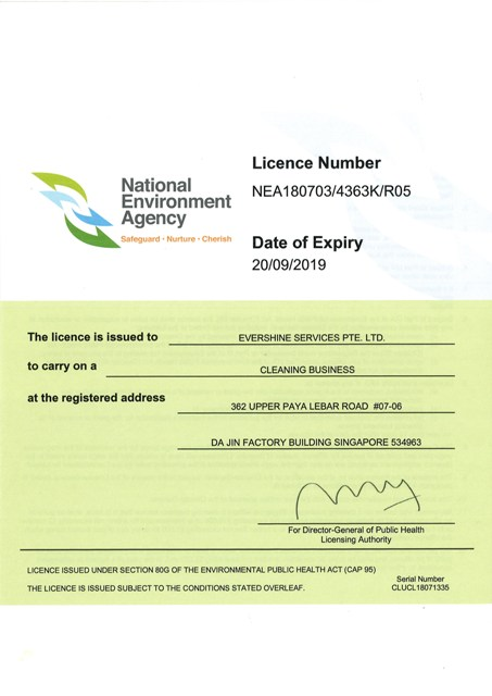 Evershine Cleaning Business Licence-ws